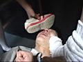 女子校生のくっさい上履き&上履きフードクラッシュ-2