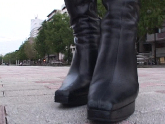 神戸系ブーツのすっぱい匂い&すっぱいつま先 画像 4