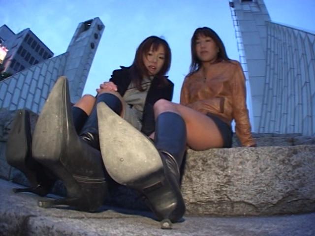 神戸系ブーツのすっぱい匂い&すっぱいつま先 画像 6