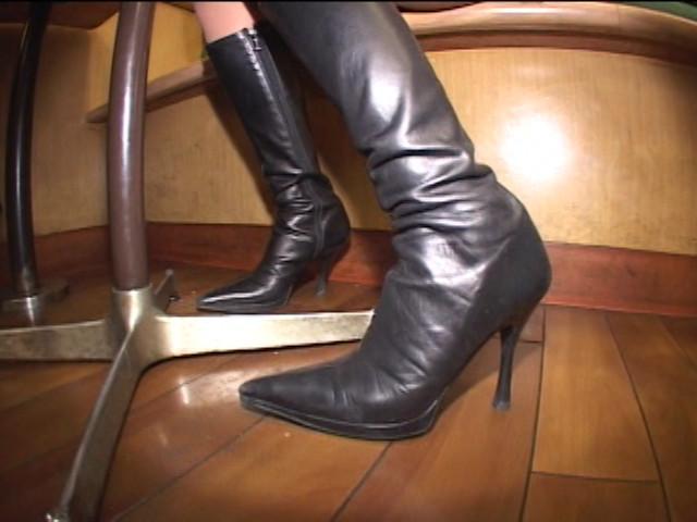 神戸系ブーツのすっぱい匂い&すっぱいつま先 画像 8