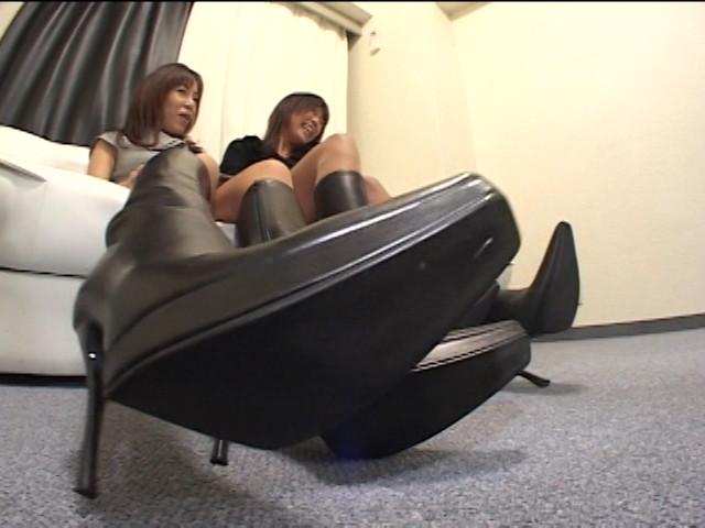 神戸系ブーツのすっぱい匂い&すっぱいつま先 画像 10