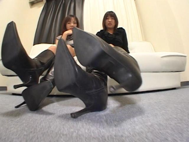 神戸系ブーツのすっぱい匂い&すっぱいつま先 画像 11