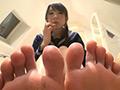 チア部の彼女の足臭臭い責めお仕置き