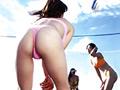 [caress-0002] Tバックビーチバレー ~汗と砂にまみれたOLの夏~