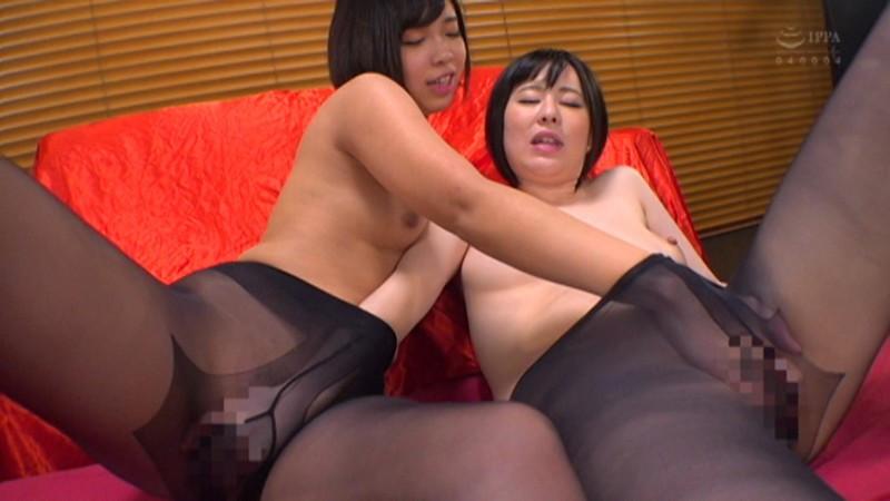 IdolLAB | celeb-1078 むっちり黒パンスト淫尻を撫で回し舐め回すレズビアン