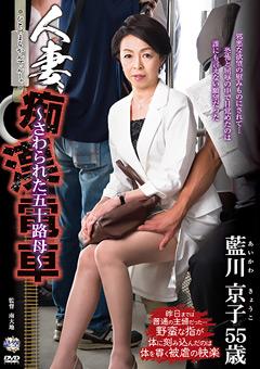 人妻痴漢電車 ~さわられた五十路母~ 藍川京子