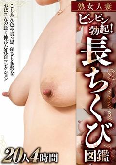 【熟女動画】熟女人妻-ビンビン勃起!長ちくび図鑑-20人4時間