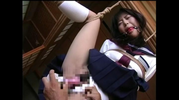 着衣緊縛フェティシズム 制服少女陥落編