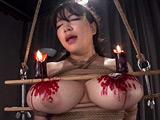 魔乳女戦士 乳房圧搾残虐刑 優月まりな 【DUGA】