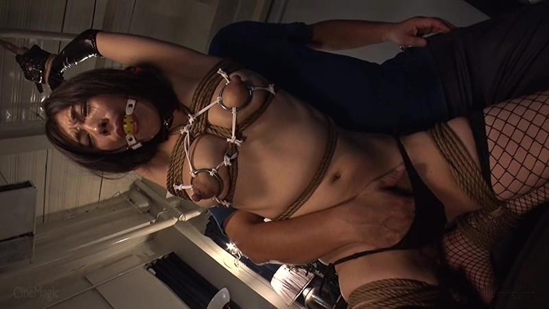 黒長乳首同性母乳搾り 尻穴でマゾイキするアナル奉仕妻 画像 6