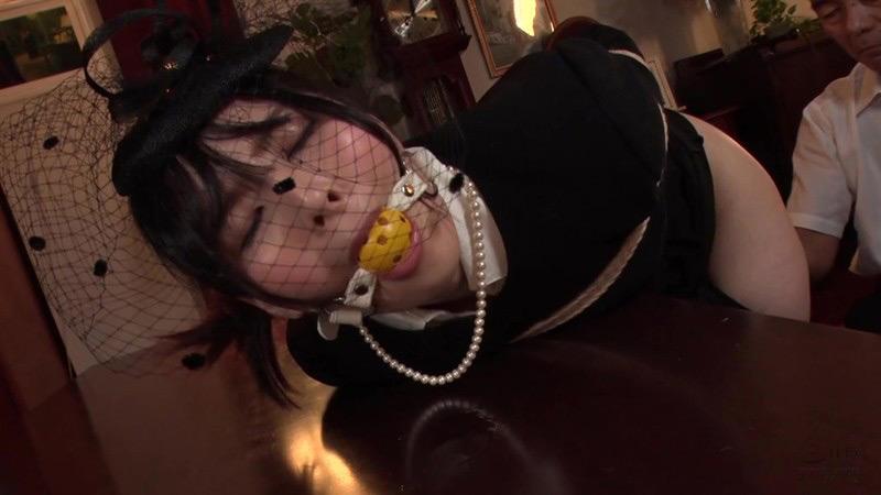IdolLAB | cinemagic2-0815 喪服股縄隷嬢 年若い未亡人と担当編集者 豊中アリス