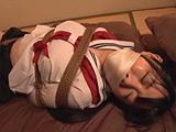 股縄DID着衣緊縛 ロープで縛られ苦しみ悶える女2 【DUGA】