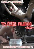 マゾ願望 FILE003 -みな-