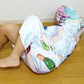 抱き枕に女子が入っているなんてありえない。 高沢沙耶