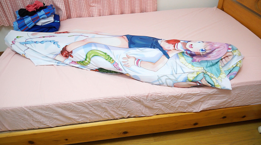 僕の抱き枕にリアル女子が入っているなんてありえない。in盛岡れみ