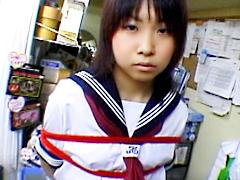 束縛 剃毛ブルセラ玩具 千尋18歳 無修正むちむちのヤリマンギャルとハ 激エロ・フェチ動画専門|ヌキ太郎