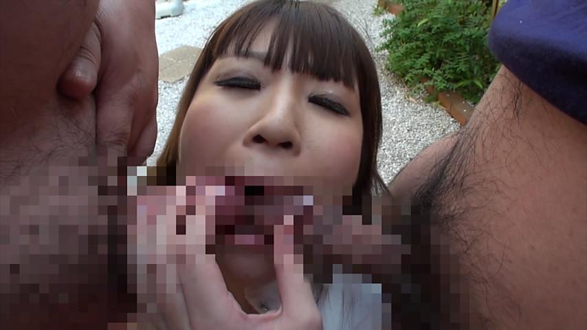 ザーメンごっくん 精飲専用爆乳尻M女