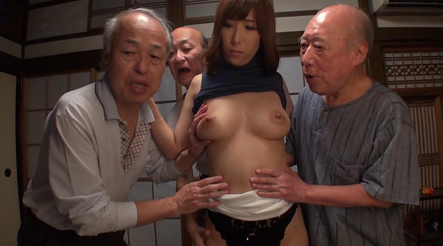 絶倫老人たちに孕ませ輪姦されイキまくる巨乳嫁2
