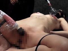 絶望したいという女 膣口タッカー・膣内通電