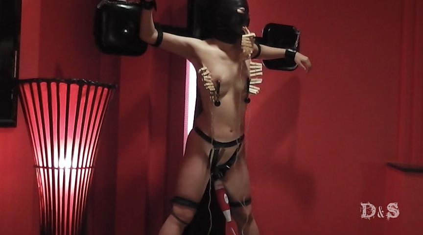 変態異常性欲エマ 十字磔鞭ケイン電マ責めのサンプル画像