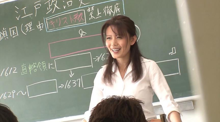 女教師が学校内でも優しくヤってあげている生現場1のサンプル画像