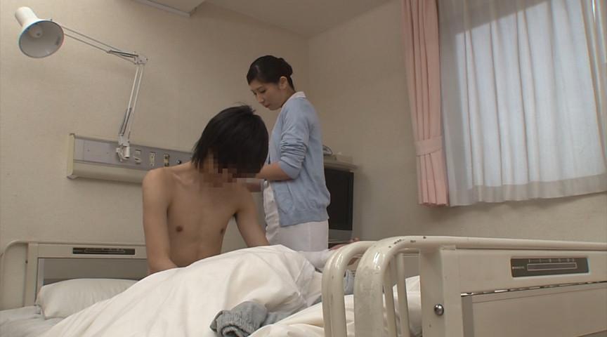 若くて硬い勃起角度150度チ○ポを見た看護師3