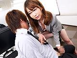 女上司に惚れられ過ぎて彼女がそばにいるのにヤられた1 【DUGA】