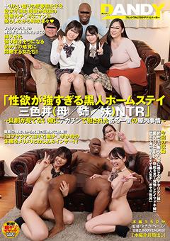 【企画動画】色欲が強すぎる黒人ホームステイ三色丼(母姉妹)NTR