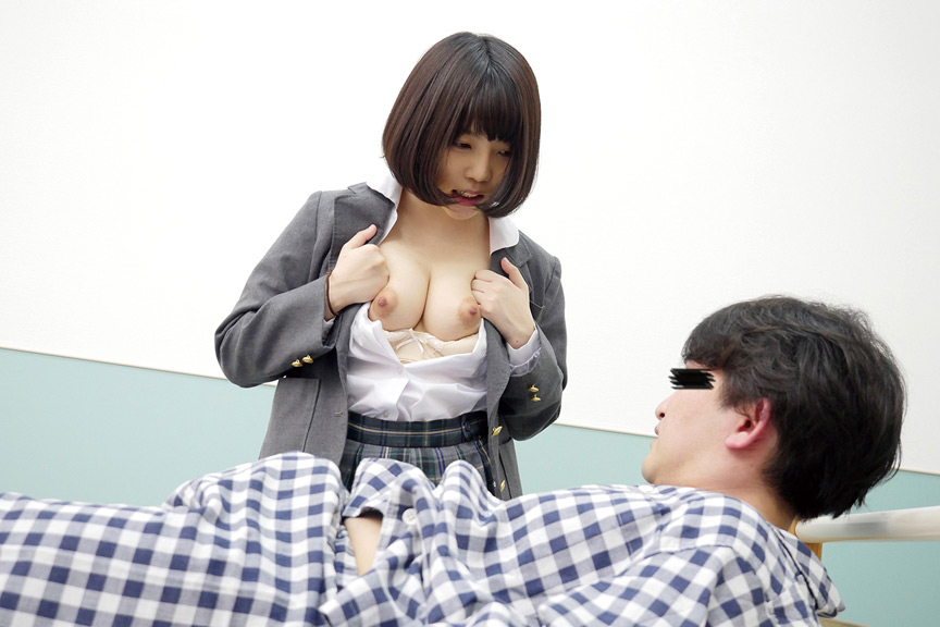 IdolLAB | dandy-0761 見舞いにきた女子○生のパンチラで勃起したら2