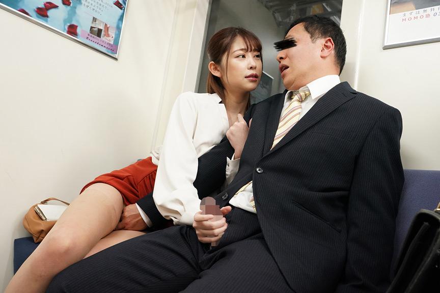 最終電車で痴女とまさかの2人きり!VOL.3 画像 2