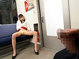 最終電車で痴女とまさかの2人きり!VOL.3