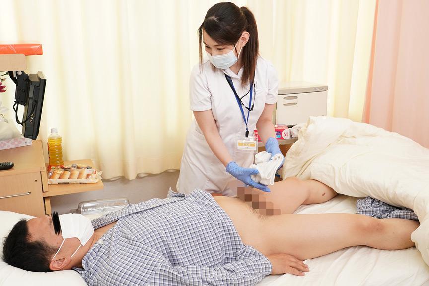 パイズリ狭射で性処理してくれるMカップ看護師 吉根さん 画像 1