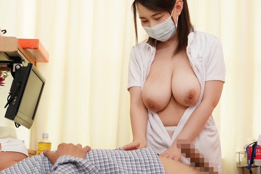 パイズリ狭射で性処理してくれるMカップ看護師 吉根さん 画像 3