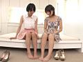 レズ Wキャスト3 湊莉久 葵こはるのサムネイルエロ画像No.4