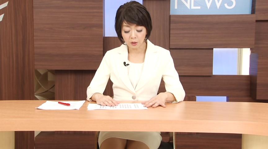 テレ○系列報道アナウンサー 桐嶋永久子 専属契約第3弾