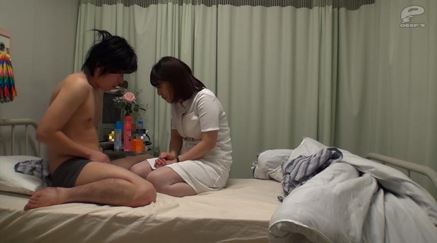 一般男女モニタリングAV 夜勤中の看護師が逆夜這い