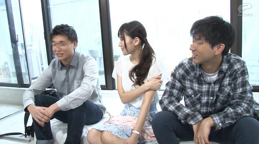 一般男女モニタリングAV 彼氏の友達と1発10万円のSEXのサンプル画像