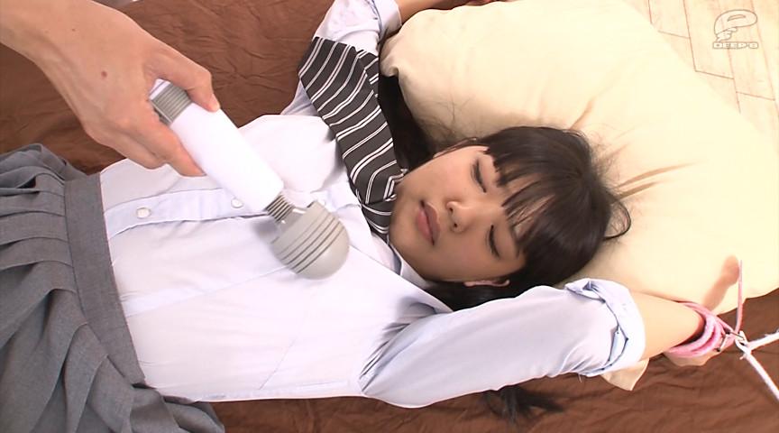 素人女子校生がまさかの拘束電マ体験! 画像 1
