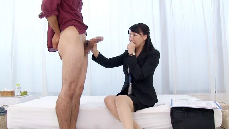 一般男女モニタリングAV 巨乳人妻OLと童貞の男子大学生3 画像 5