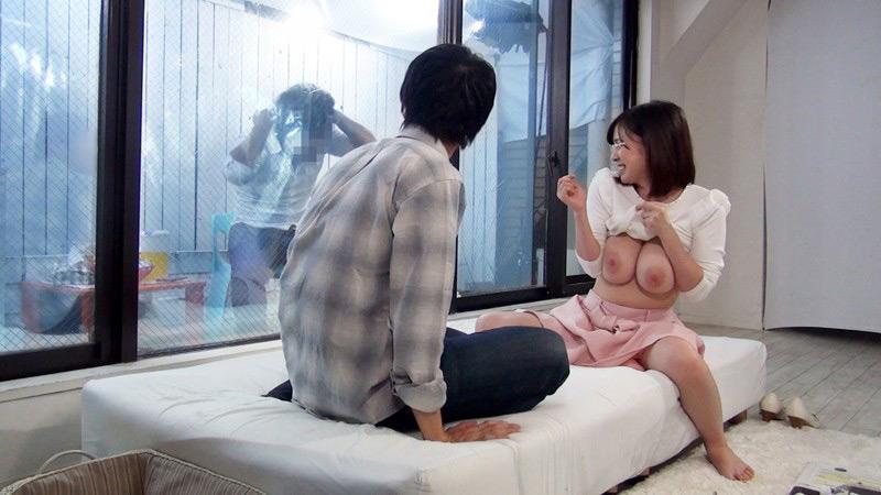 一般男女モニタリングAV 彼氏の友達と1発10万円のSEX2