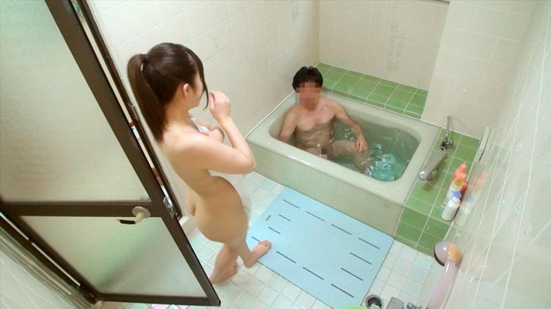 一般男女モニタリングAV 仲良し父娘 密着ふれあい入浴のサンプル画像