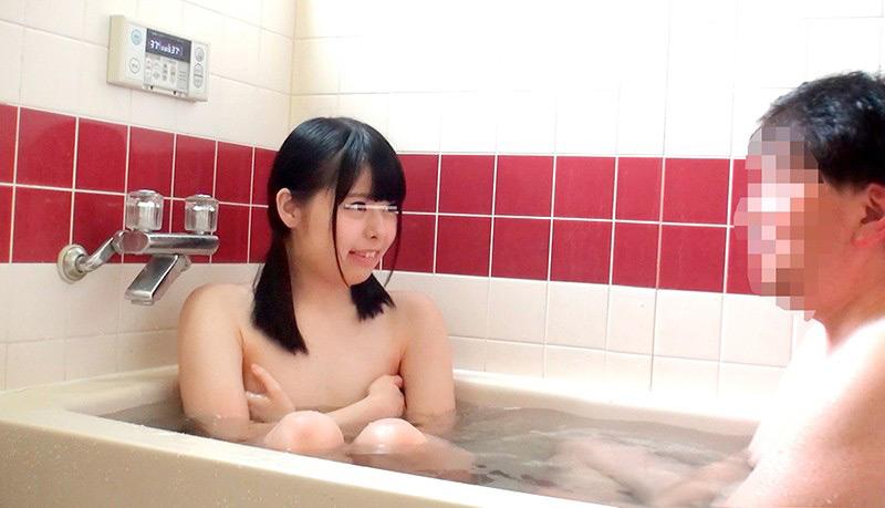 一般男女モニタリングAV 仲良し父娘 密着ふれあい入浴