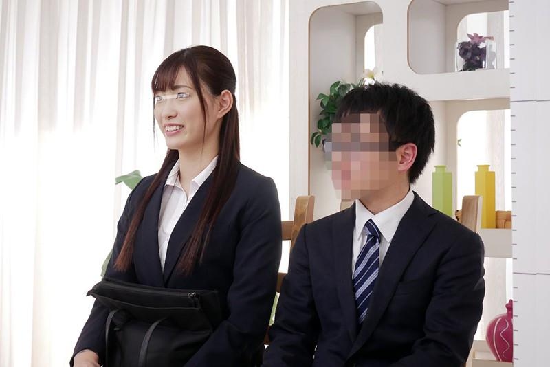 一般男女モニタリングAV 女先輩と後輩くんが身長差SEXのサンプル画像