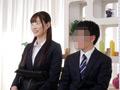 一般男女モニタリングAV 女先輩と後輩くんが身長差SEX