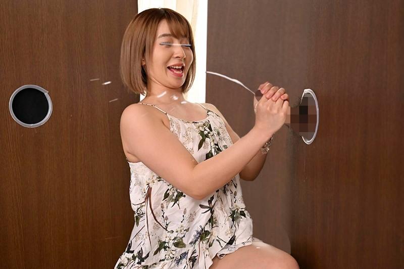 渋谷のギャル女子大生が壁ち○ぽの即ヌキに挑戦!のサンプル画像4