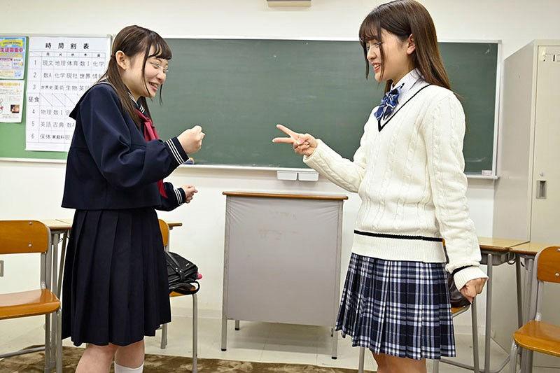 制服女子○校生限定!学校対抗中出し野球拳!2のサンプル画像