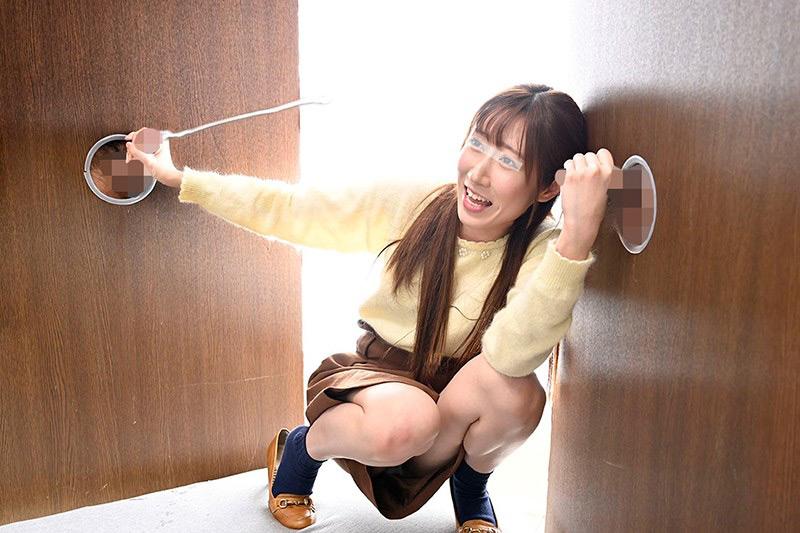 素人女子大生が無数に生えた壁ち○ぽの即ヌキに挑戦! 5のサンプル画像