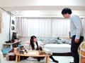 女子大生の黒パンスト尻にバックからデカチン即ハメ!-2