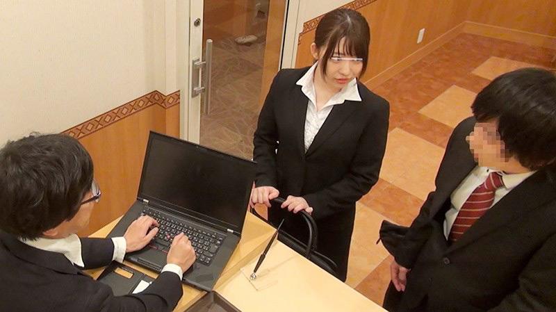 一般男女モニタリングAV 職場の同僚ドッキリ企画4 画像 1