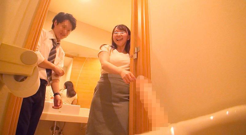 一般男女モニタリングAV 職場の同僚ドッキリ企画4 画像 4